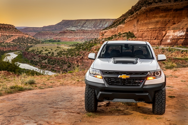 Chevy Colorado Zr2 Baja Like Pickup Genuine Off Road Fun Wardsauto