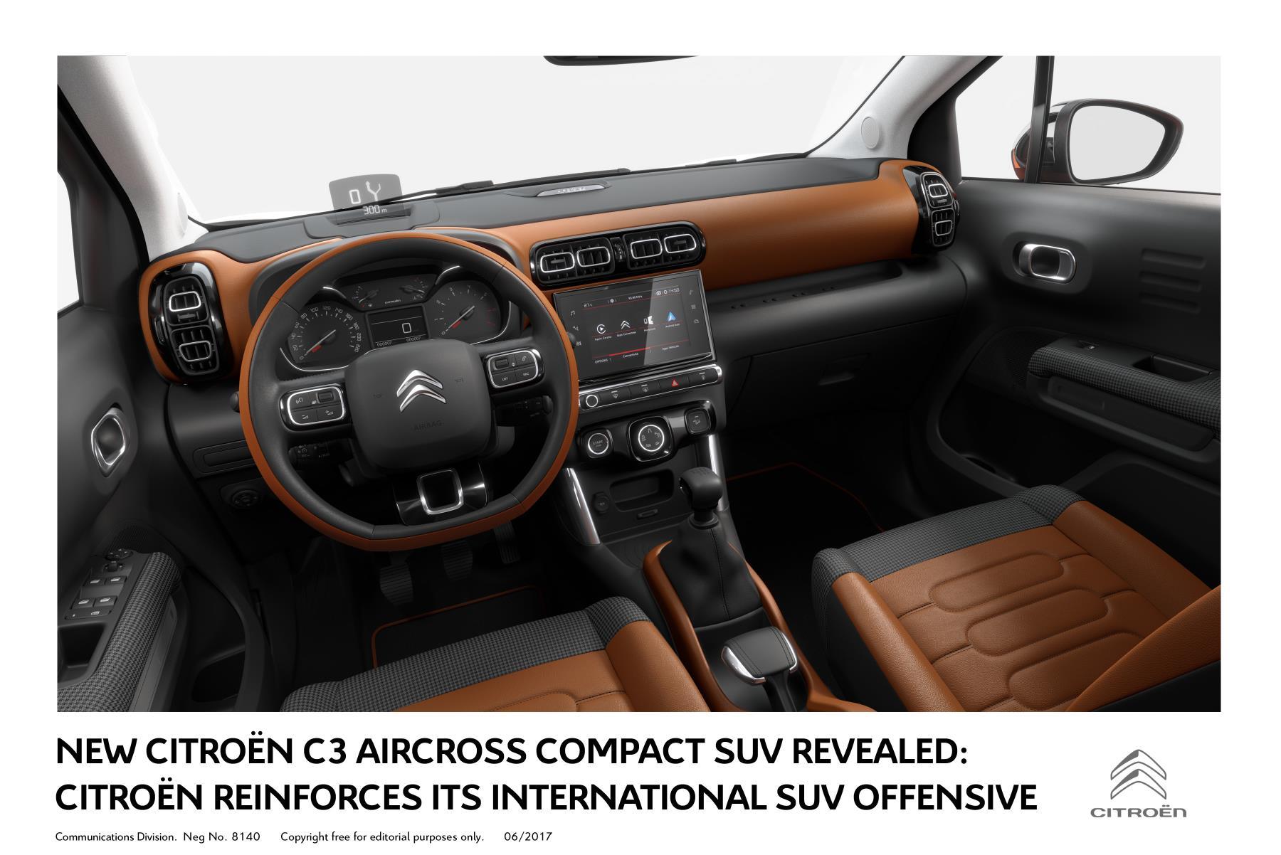 Citroen Automaker Releases of C3 Aircross B Segment SUV