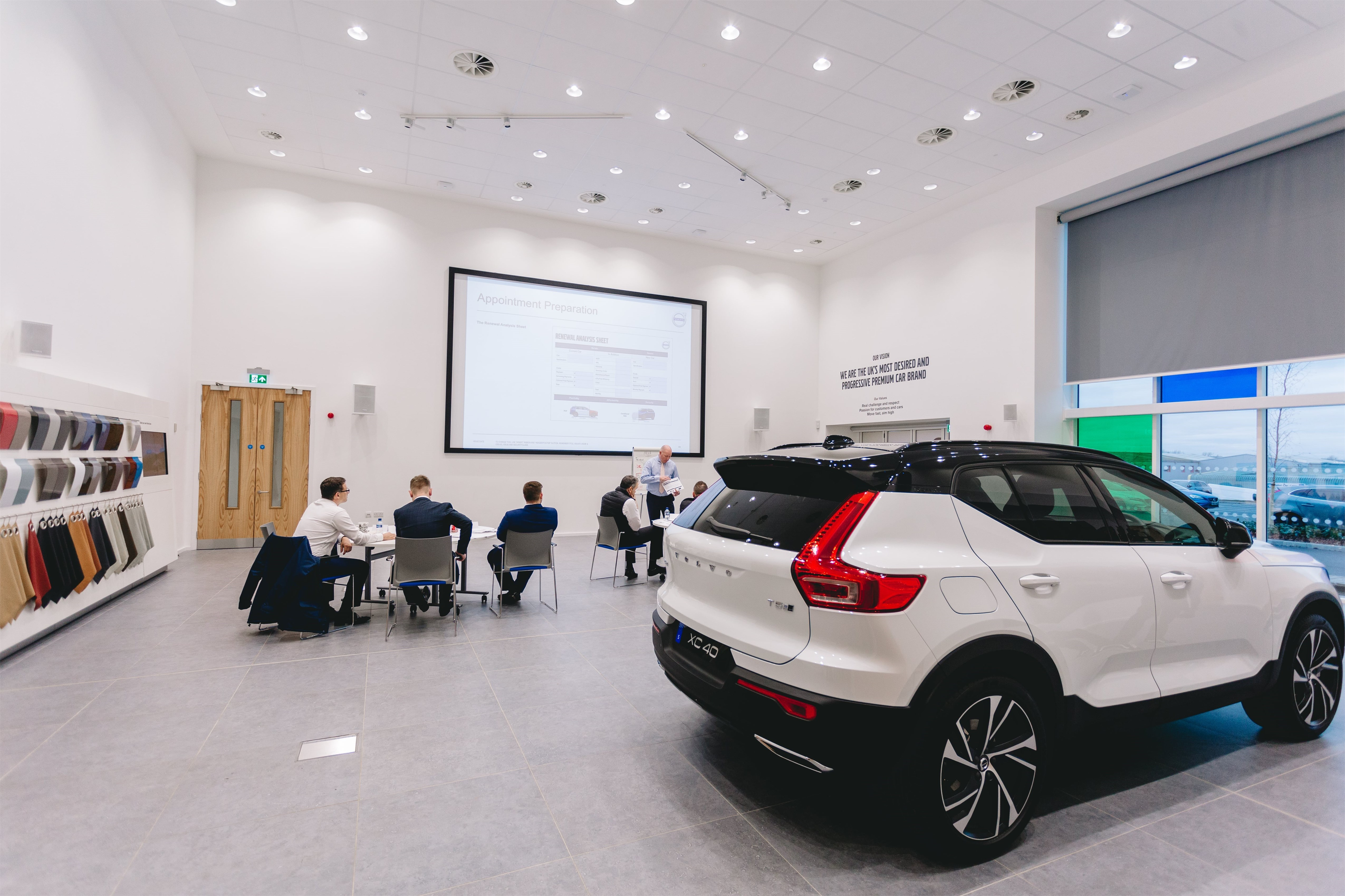 Volvo U K    Automaker Opens Customer-Centered Training Center