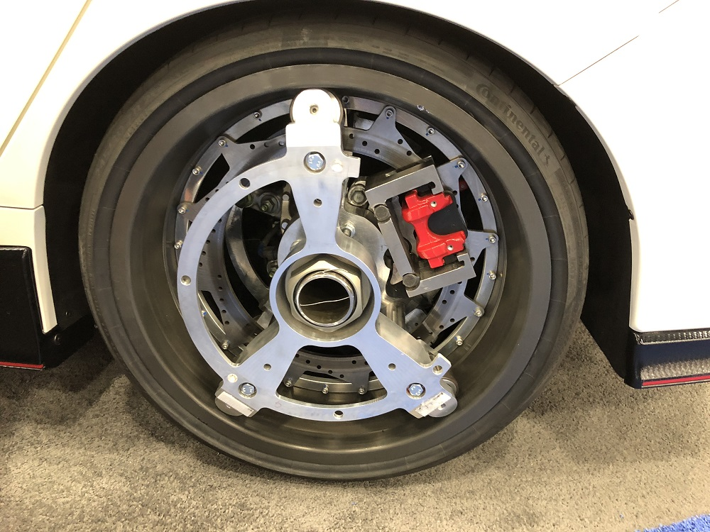 Orbis Ring Drive Wheel On Honda Civic Type R