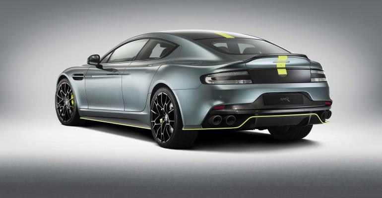 Aston Martin Rapide Amr Production Run To Be Limited To  Cars