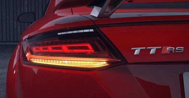 OLSA products include taillamp for Audi TT.