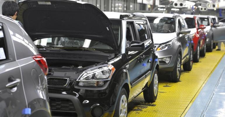 Hyundai Motor Group already established in city of Gwangju with Kia plant.