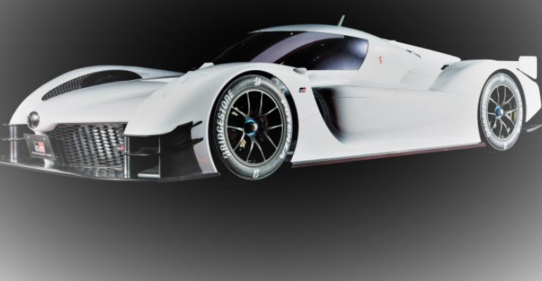 GR Super Sport Concept points way to new Toyota hybrid sports car.