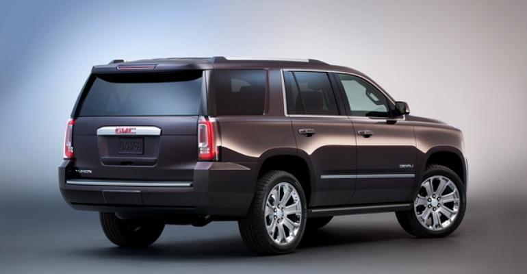 GM39s New Large SUVs