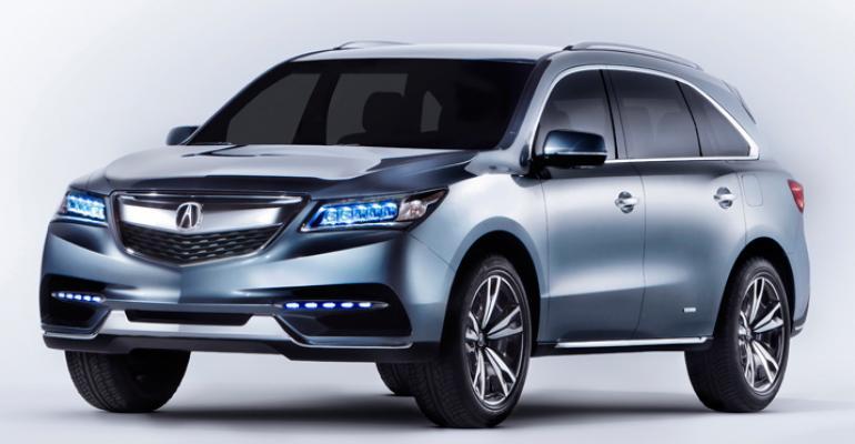 2013 NAIAS Concept Vehicles