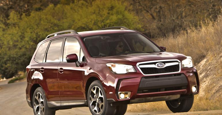 Forester one of Subaru39s topselling US models