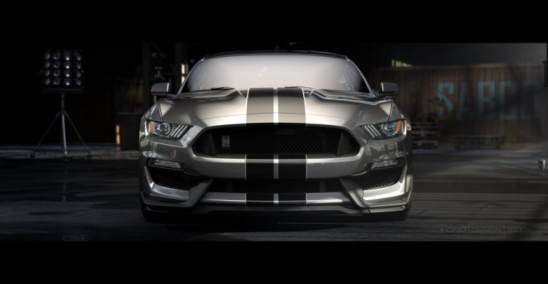 '16 Ford Shelby GT350 Mustang Unveiled