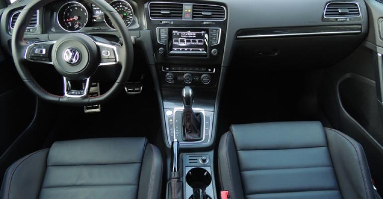 Elegant sporty and pleasant to the eye the 3915 VW GTI39s interior raises the bar in its segment