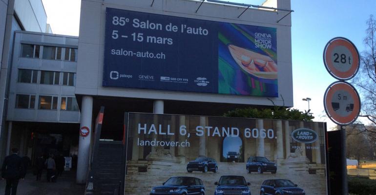 2015 Geneva Auto Show: Shots From the Floor