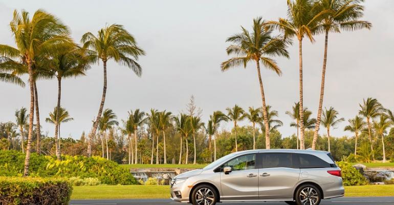 '18 Honda Odyssey