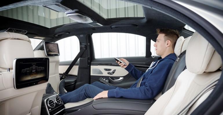 '14 Mercedes S-Class Massaging Seats