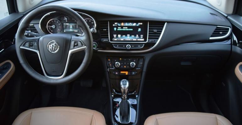 2017 Wards 10 Best Interiors Nominee: Buick Encore