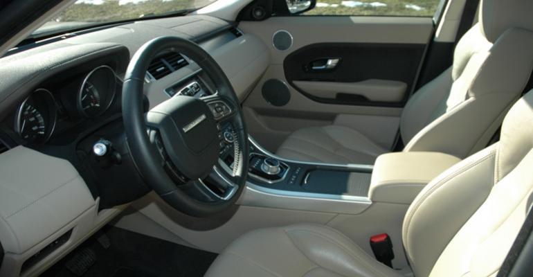 2012 10 Best Interiors: Range Rover Evoque