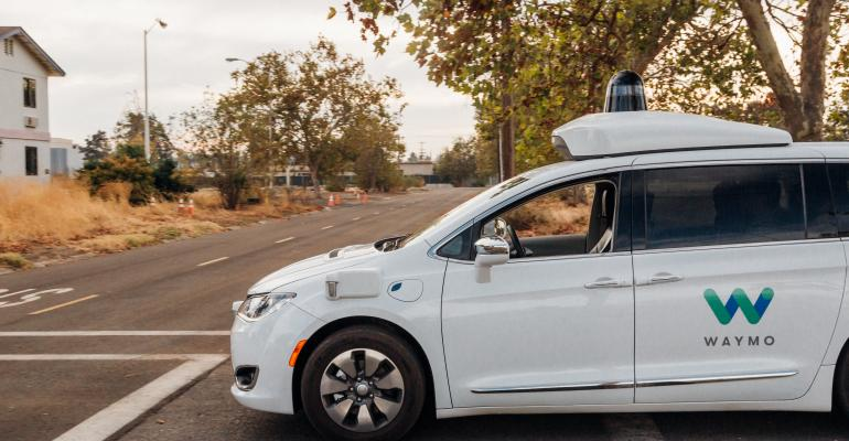Test riding selfdriving minivan at Waymo39s formerly supersecret proving ground