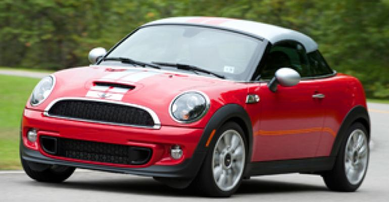 New Coupe Most Fun-To-Drive Mini Yet