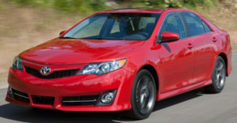 Toyota Boosts '12 Camry's Strength; Cuts Noise, Weight