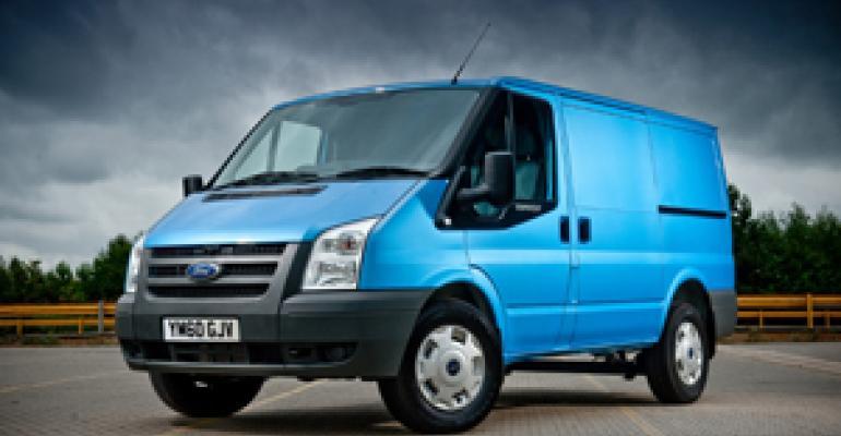 Ford Van Lineup Merging