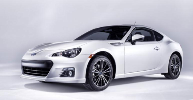 rsquo13 Subaru BRZ on sale in US next spring
