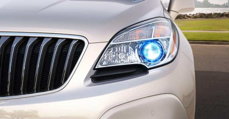 Buick Encore to bow at Detroit auto show