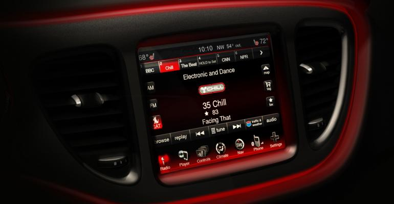 rsquo13 Dodge Dart features 84in touchscreen