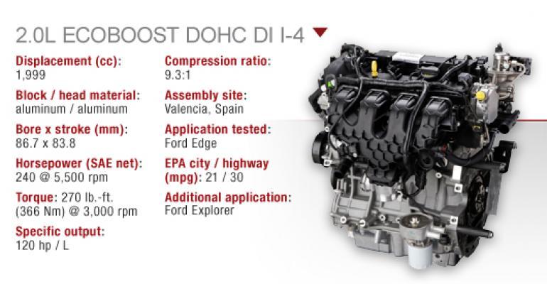 Ford 2 0l Ecoboost Dohc I 4 Wardsauto