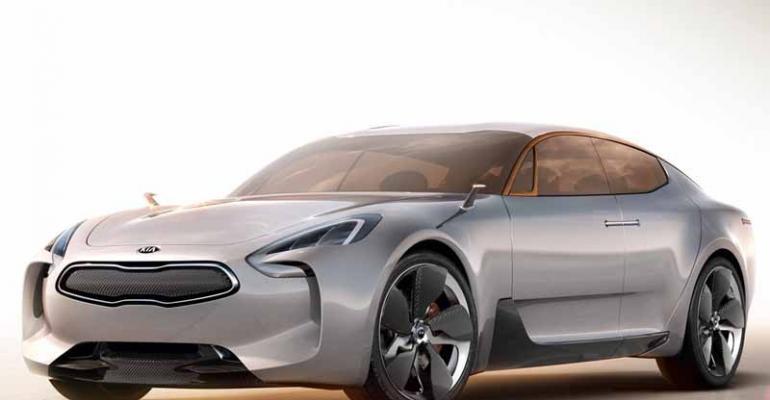Kia GT concept wowed Frankfurt LA crowds