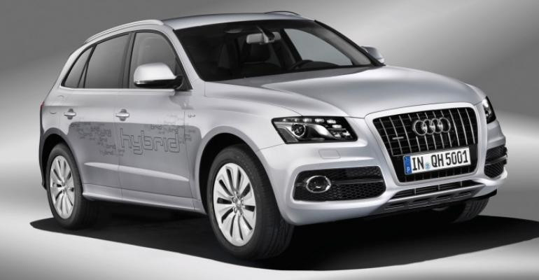 Q5 CUV one of several Audis slated to offer diesel option in US