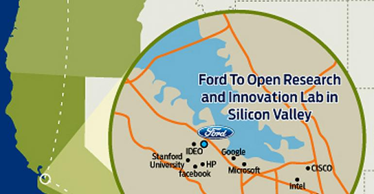 Fordrsquos new Silicon Valley lab is in close proximity to top tech firms