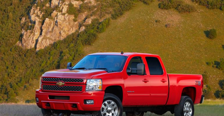 Chevy Silverado 2500 HD to offer CNGgas option later this year