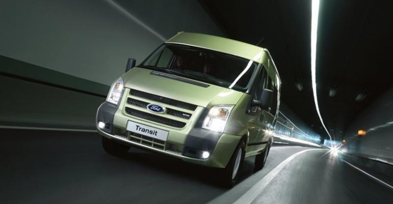 Ford to offer new diesel engine in Ford Transit commercial van