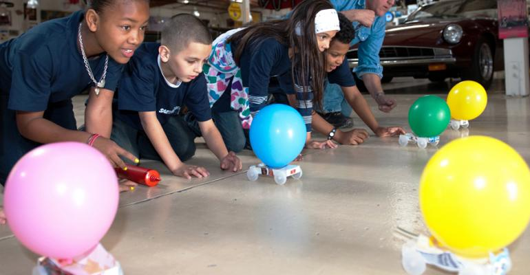 SAE Foundationrsquos quotA World of Motionquot program encourages school children to be engineers but qualified grads in short supply