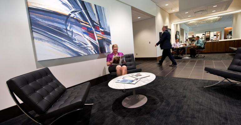 Suburban Cadillac typifies improvements to dealer showrooms
