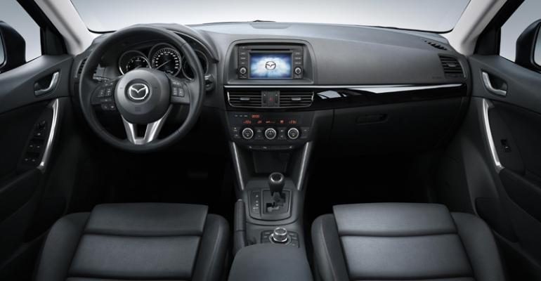 TomTom brings familiarity to users of Mazda CX5rsquos navigation unit