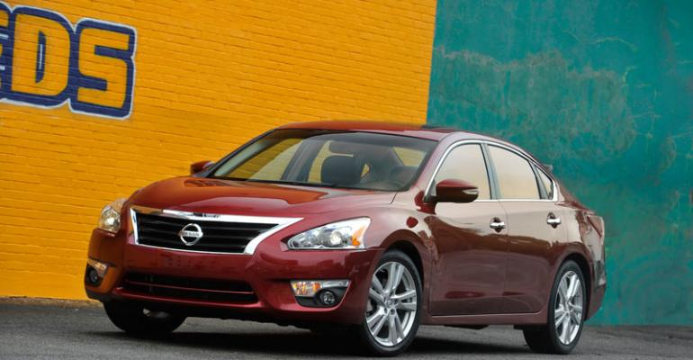 Redesignedforrsquo13 Nissan Altima impresses on many fronts