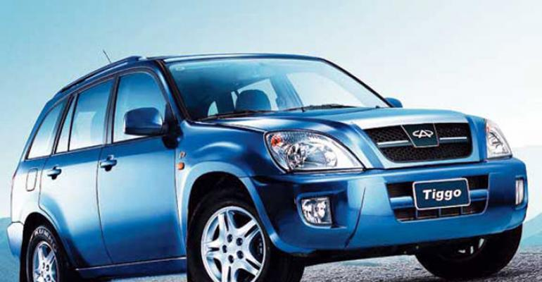 Tiggo SUV maker Chery exports vehicles to 80plus countries
