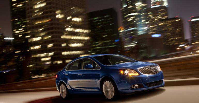 Buick Verano 20L turbo to make 250 hp and 260 lbft of torque