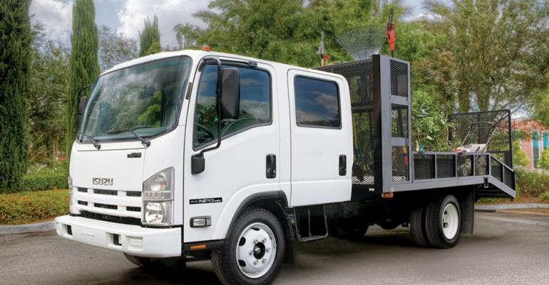 Isuzu drove up Class 4 sales last month