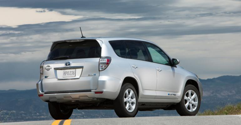 Rollout of Canadabuilt Toyota RAV4 EV slated for December