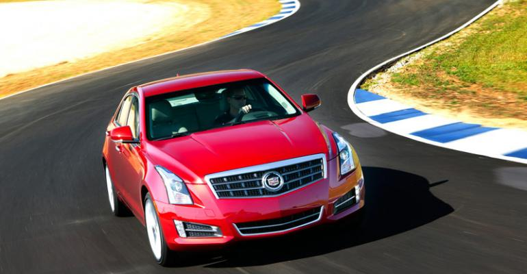 Cadillac ATS compact sports sedan key to brandrsquos global fortunes