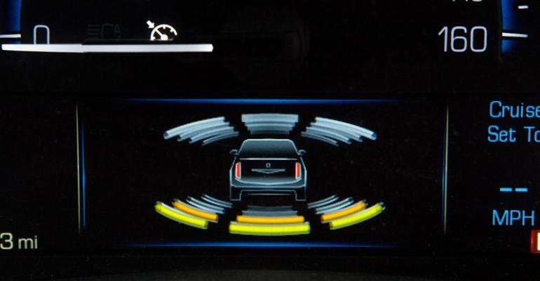 Sophisticated radar vision and ultrasonic sensors underpin Cadillacrsquos new active safety systems