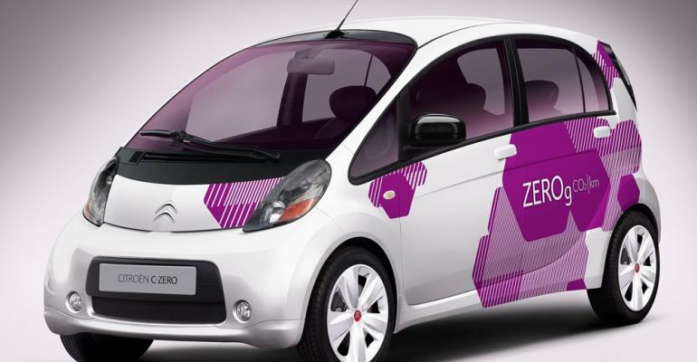 Citroen CZero EV makes 8month world tour on 300 worth of electricity