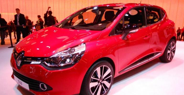 Clio essential to rebounding Renault sales