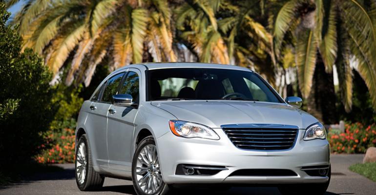 Chrysler 200 sets September sales record