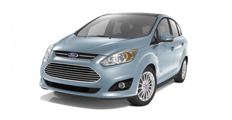 rsquo13 Ford CMax Energi PHEV has 21mile pureelectric range