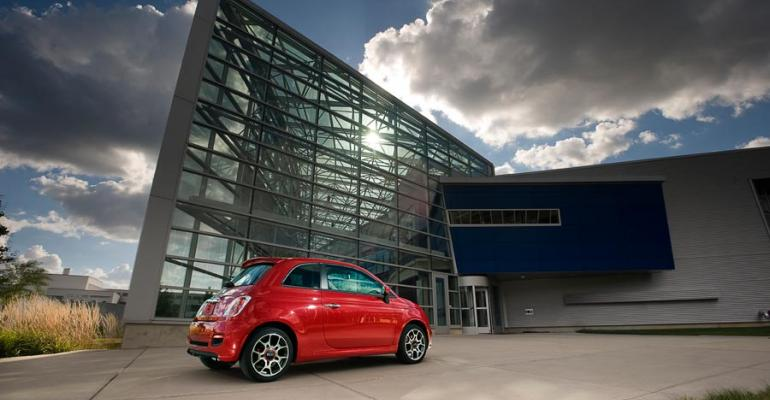 Fiat fastestimproving auto maker when it comes to CO2 emissions