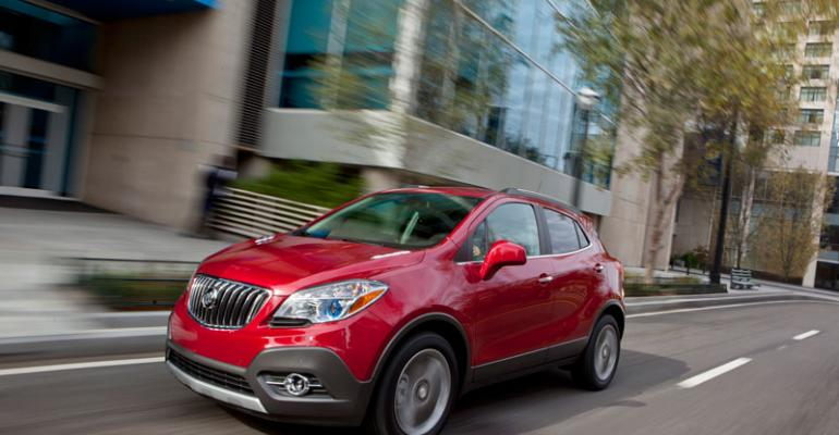 Buick Encore expected to repeat success of new Verano sedan
