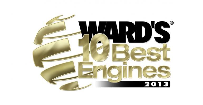 WardsAuto announced 2013 10 Best Engines winners