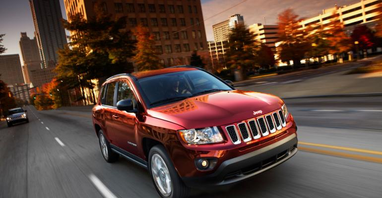 Csegment Jeep Compass popular in China