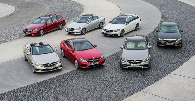 New EClass models will offer 18 engine and driveline combinations